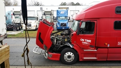 24 hour on-site truck repair